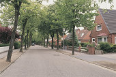 Suburban street , Marne , Germany