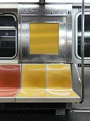 Subway car in New York