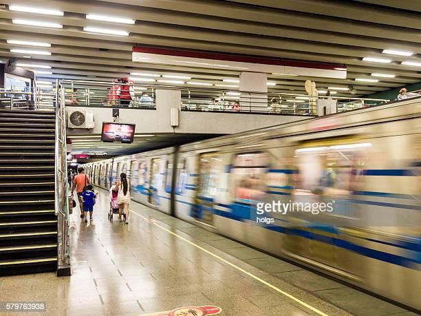 Subway in Santiago, Chile