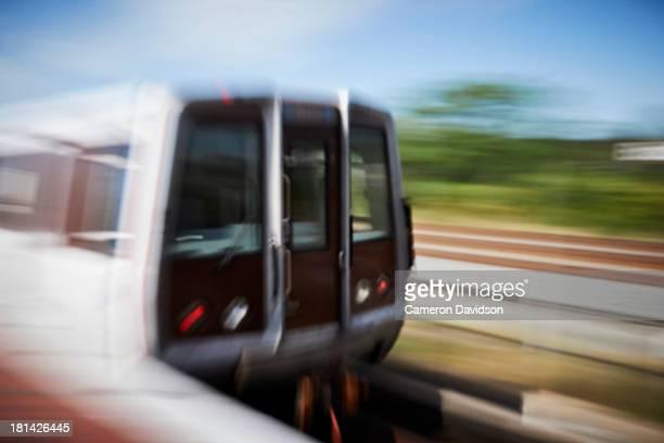 Subway, motion blur