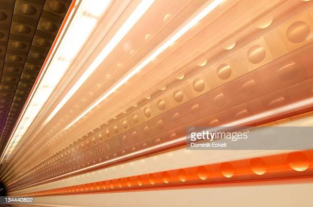 Subway of Prague