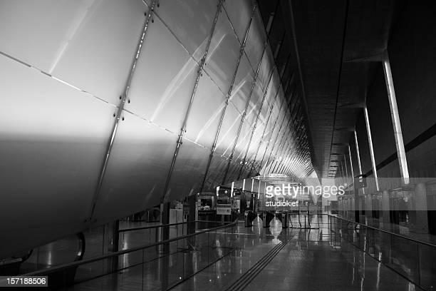 Subway station at Singapore Airport