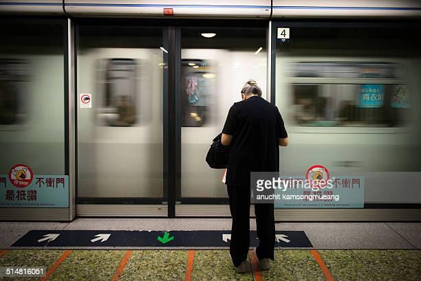 Subway station hong kong