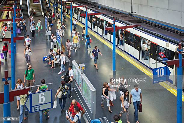 Subway Station in Madrid
