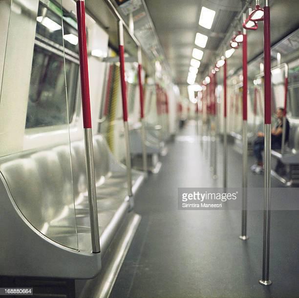 Subway train in Hong Kong