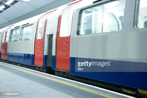 Subway Train in London