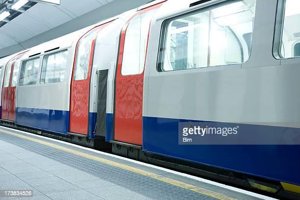 Subway Train in London