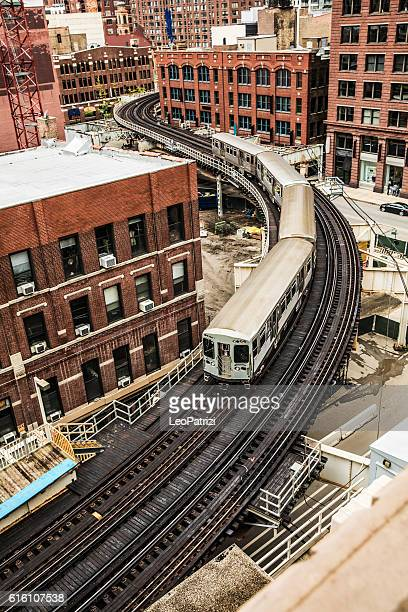 Subway train - Transportation in Chicago, IL