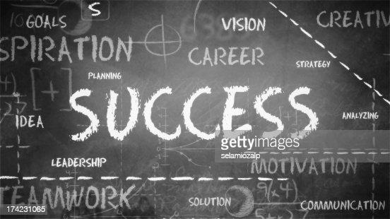 Success Background : Stock Photo