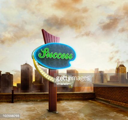 Success in the city : Stock Photo