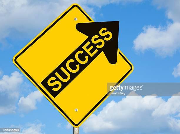 Success Upward Arrow Sign