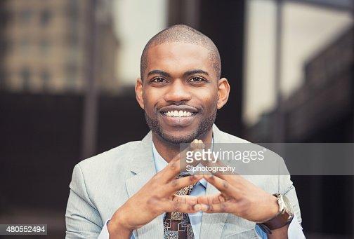 Exitoso hombre de negocios : Foto de stock
