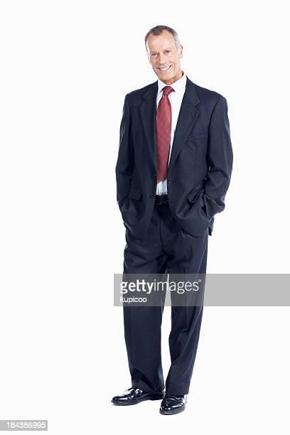 実りあるビジネス男笑顔