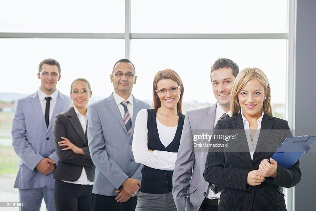 Equipo de negocios exitoso : Foto de stock