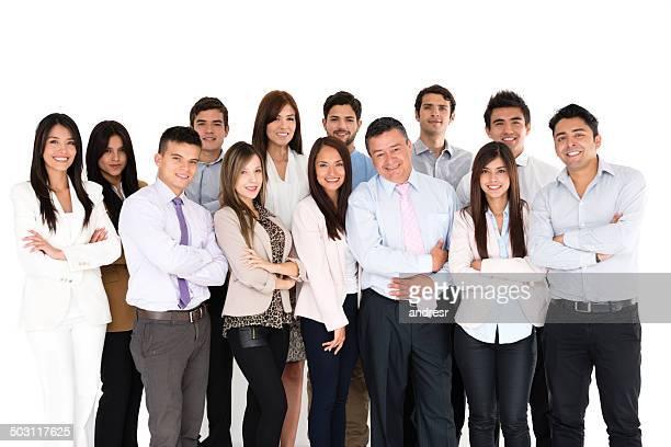 Erfolgreichen business-team