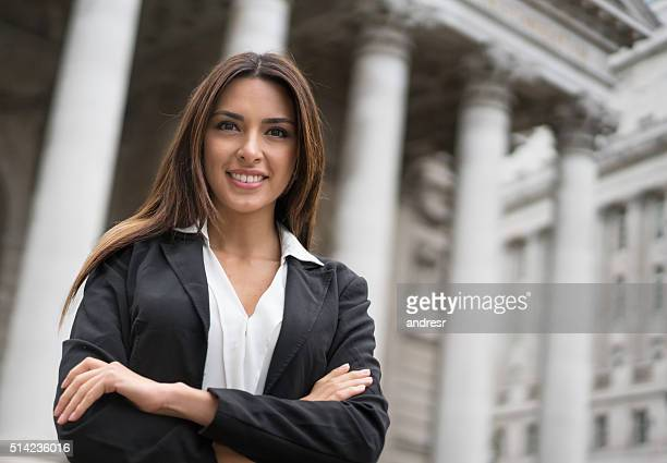 Successful business woman or lawyer