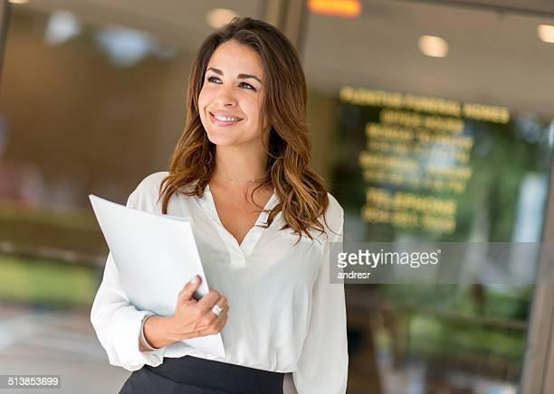 Femme d'affaires réussie