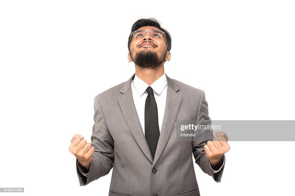 Erfolgreicher Geschäftsmann  : Stock-Foto