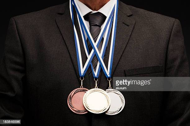 A successful businessman who won three medals