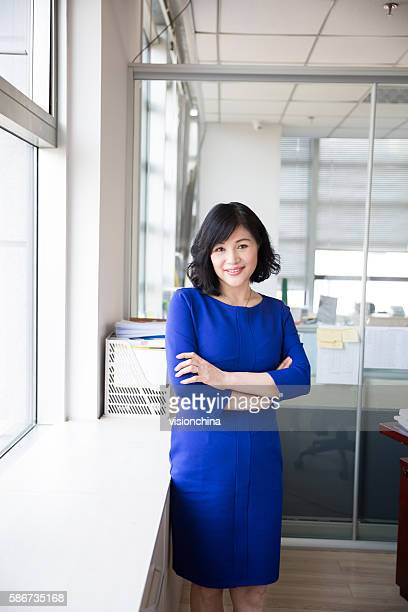 successful chinese business woman