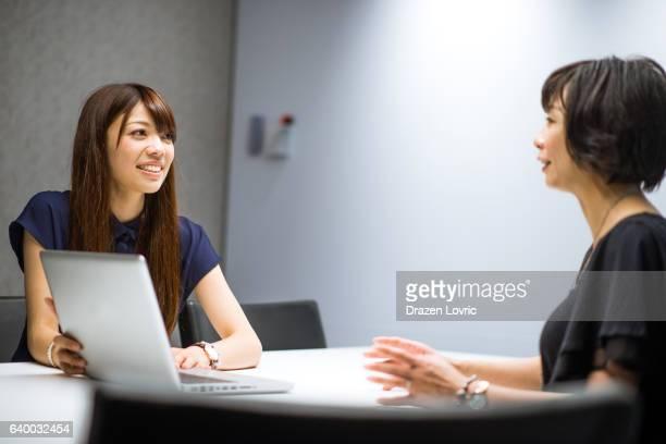 Successful Japanese businesswomen in financal industry