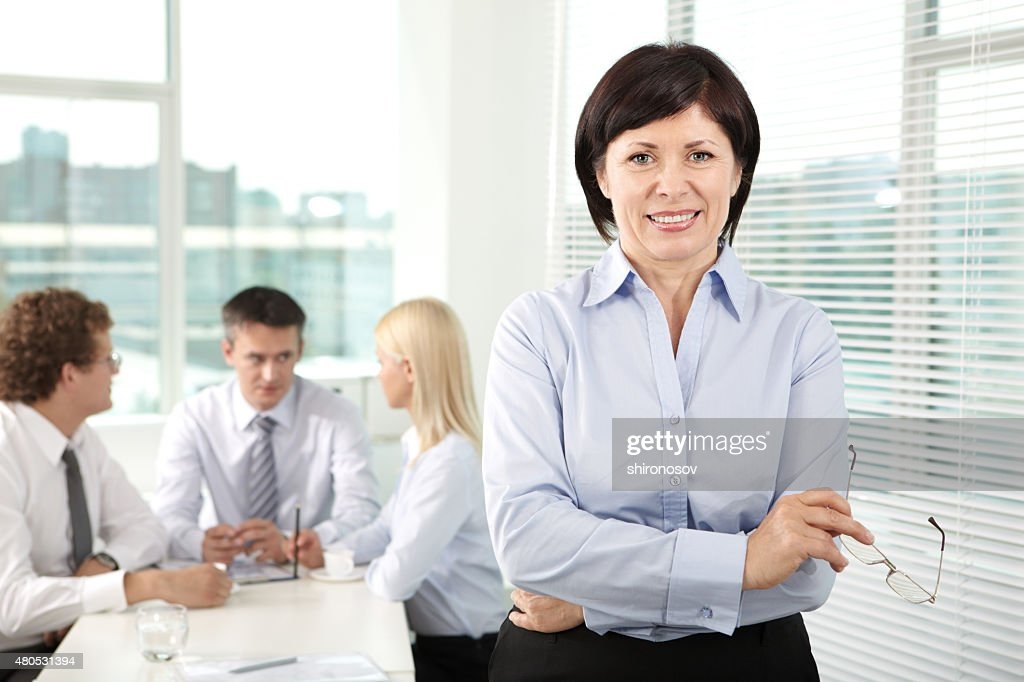 Successful leader : Stockfoto