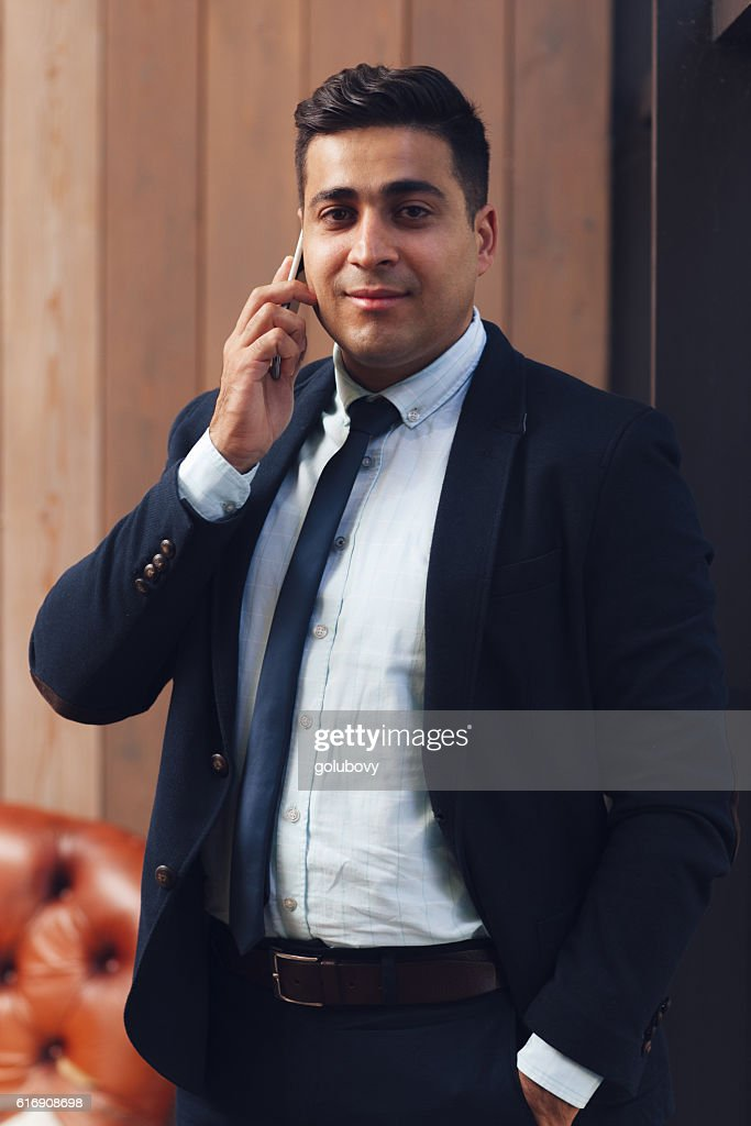 Successful manager of business company : Stock Photo