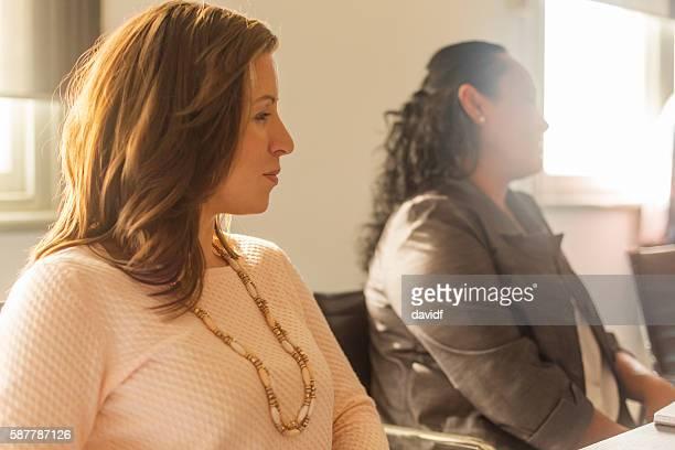 Successful Maori Pacific Islander Business Woman Leading a Team Meeting