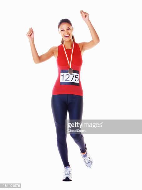 Successful Marathon runner