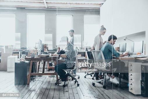 Successful professionals. : Stock Photo