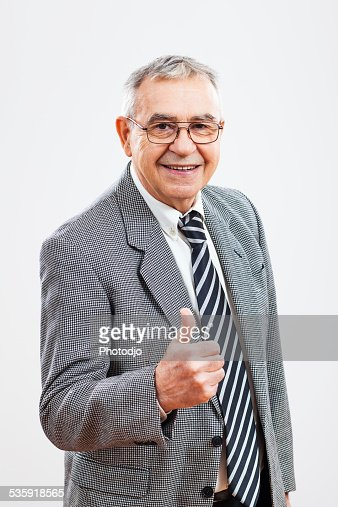 Successful senior businessman : Stock Photo