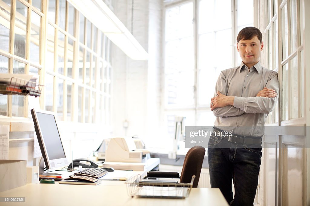 Successful small business owner : Stock Photo