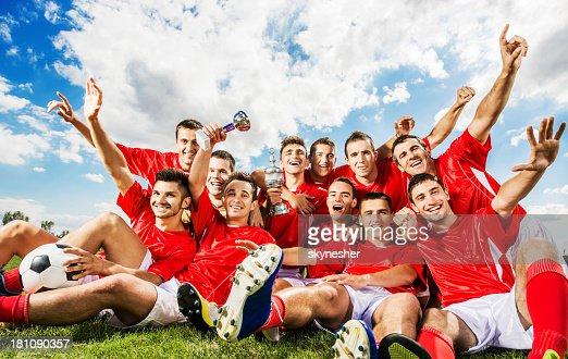 Successful soccer team.