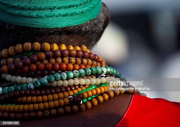 Sudan Khartoum State Khartoum sufi whirling dervish beads at omdurman sheikh hamad el nil tomb
