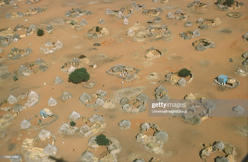 Sudan Kordofan Province Village Homesteads 30 Million People Live In The Sahel The Area Is Vulnerable To Erosion And Drought