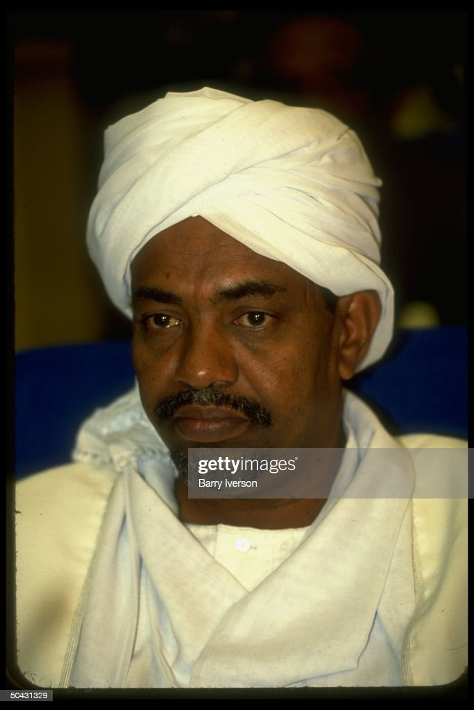 Sudan ldr. <a gi-track='captionPersonalityLinkClicked' href=/galleries/search?phrase=Omar+al-Bashir&family=editorial&specificpeople=588924 ng-click='$event.stopPropagation()'>Omar al-Bashir</a> during African ldrs. summit in Cairo, Egypt.