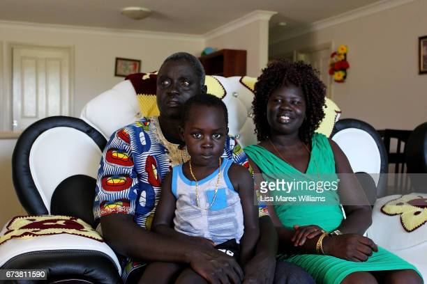 Sudanese Daniel Atuich Rachel Atuich and son Tony Atuich on January 30 2017 in Tamworth Australia Tamworth is a large regional city in the New...
