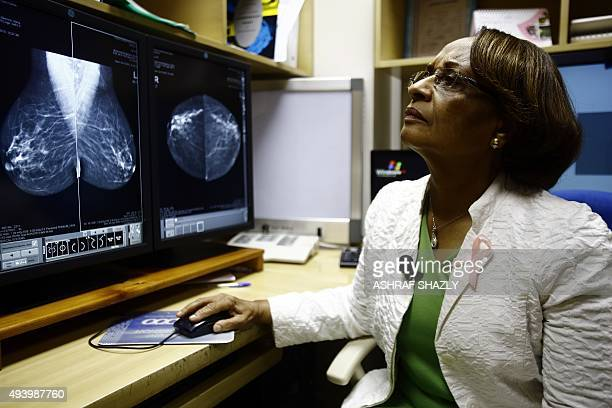 Sudanese radiologist Dr Hania Fadl gives an interview at the Khartoum Breast Care Centre on October 15 2015 Ignoring financial advisers' warnings to...