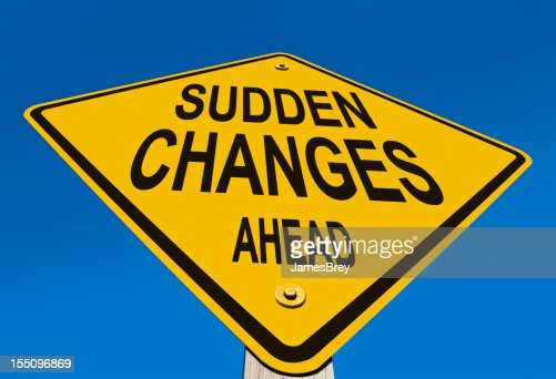 Sudden Changes Ahead Road Sign