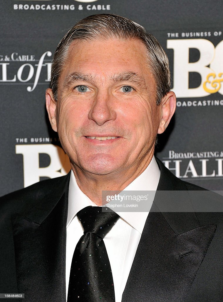 Suddenlink Communications Chairman and CEO Jerry Kent attends The 2012 Broadcasting & Cable Hall Of Fame Awards at The Waldorf=Astoria on December 17, 2012 in New York City.