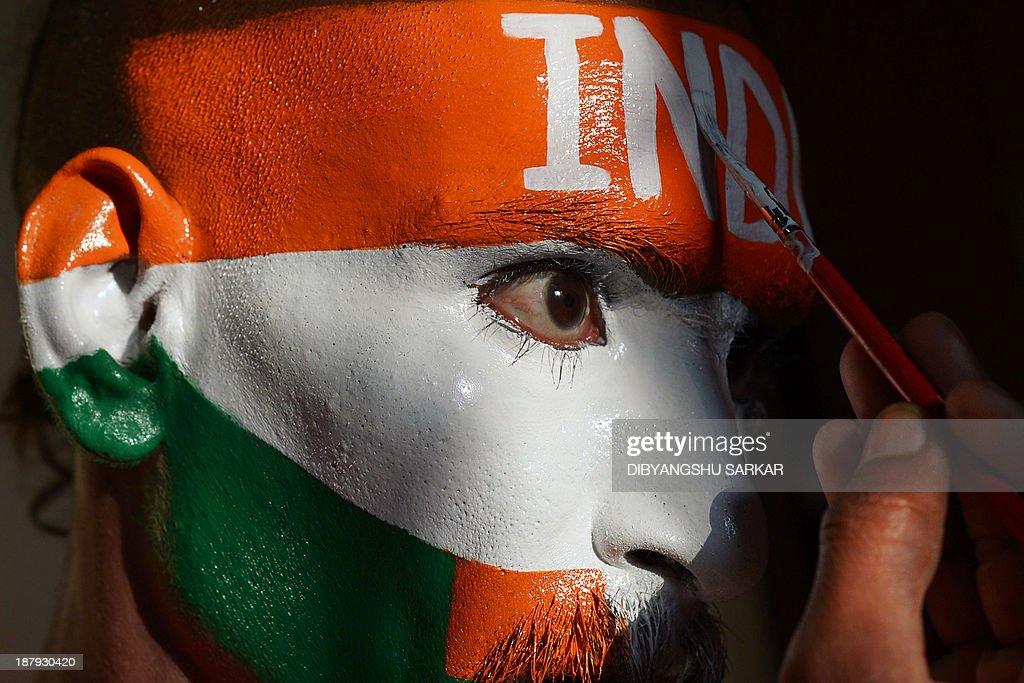 Indian Flag Cricket: India Legend Sachin Tendulkar Plays His Final Test Match