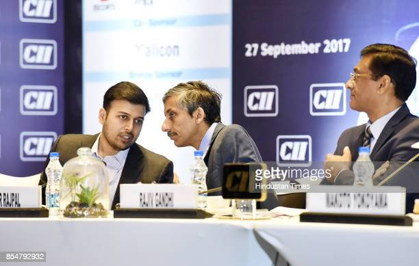 Sudhir Rajpal Principal Secretary Industries Commerce Government of Haryana with Nishant Arya Chairman of CII Haryana State Council Executive...