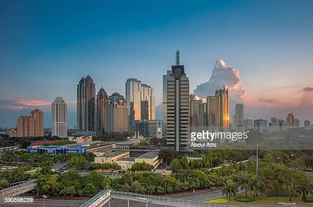 Sudirman Central Business district SCBD, Jakarta