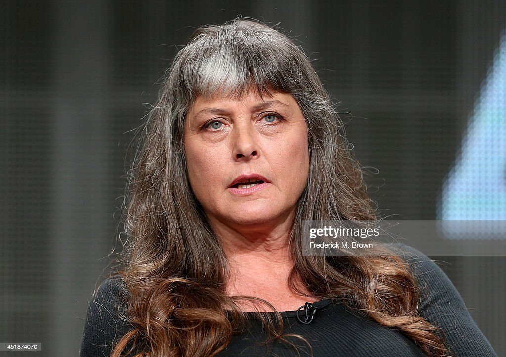 Sue Aikens speaks onstage at the 'Life Below Zero' panel during the National Geographic Channels portion of the 2014 Summer Television Critics Association at The Beverly Hilton Hotel on July 8, 2014 in Beverly Hills, California.