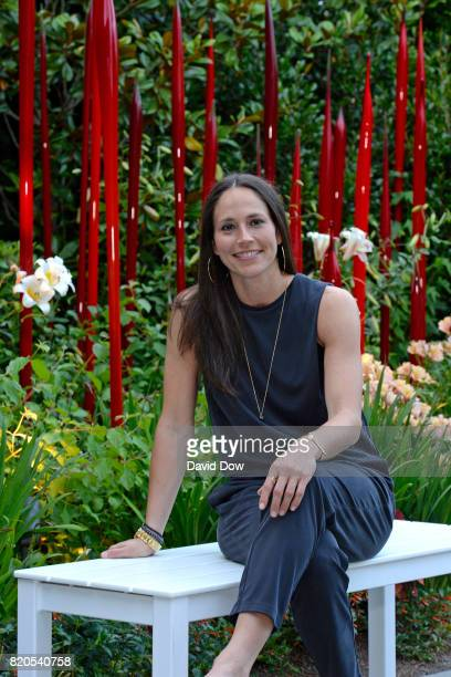 Sue Bird of the Seattle Storm poses for a photo during the WNBA AllStar Welcome Reception Presented by Visit Seattle as part of the 2017 WNBA AllStar...