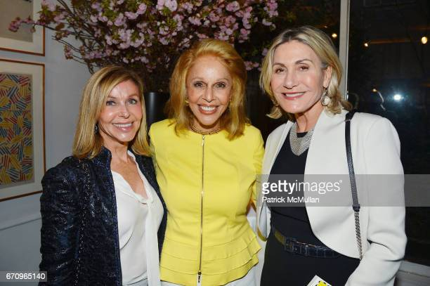 Sue Chalom Susan Silver and Susan Magrino Dunning attend Susan Silver's Memoir Signing Celebration at Michael's on April 20 2017 in New York City