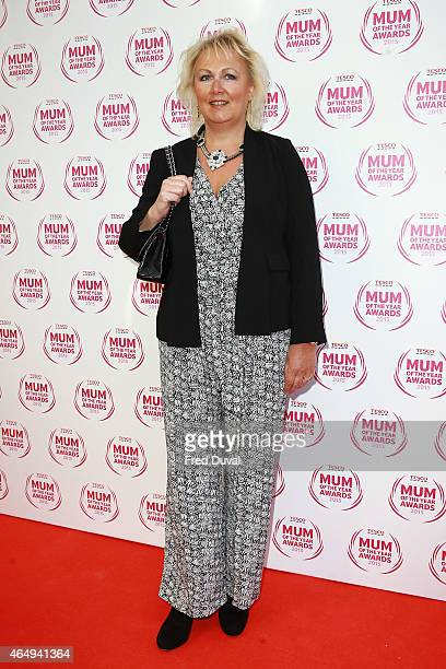 Sue Cleaver attends the Tesco Mum of the Year Award at The Savoy Hotel on March 1 2015 in London England