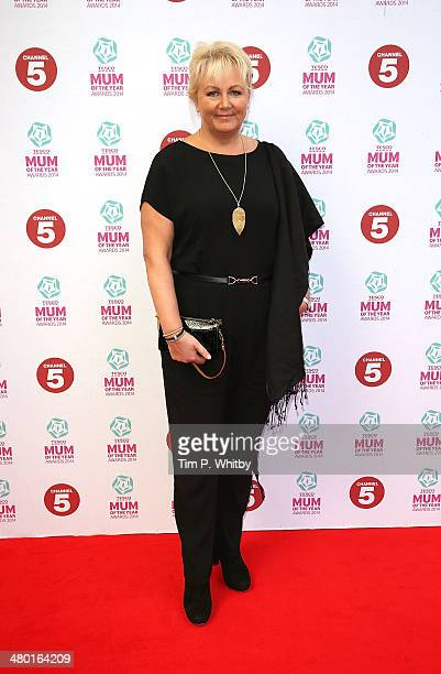 Sue Cleaver attends the Tesco Mum of the Year awards at The Savoy Hotel on March 23 2014 in London England