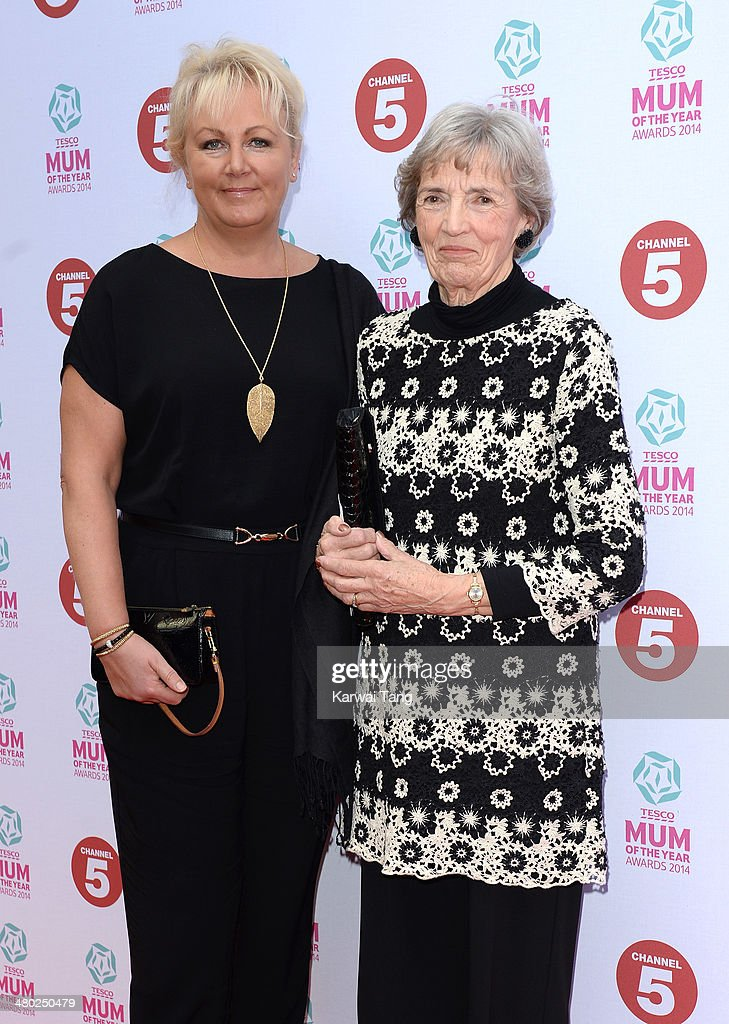 Sue Cleaver attends the Tesco Mum of the Year awards at The Savoy Hotel on March 23, 2014 in London, England.