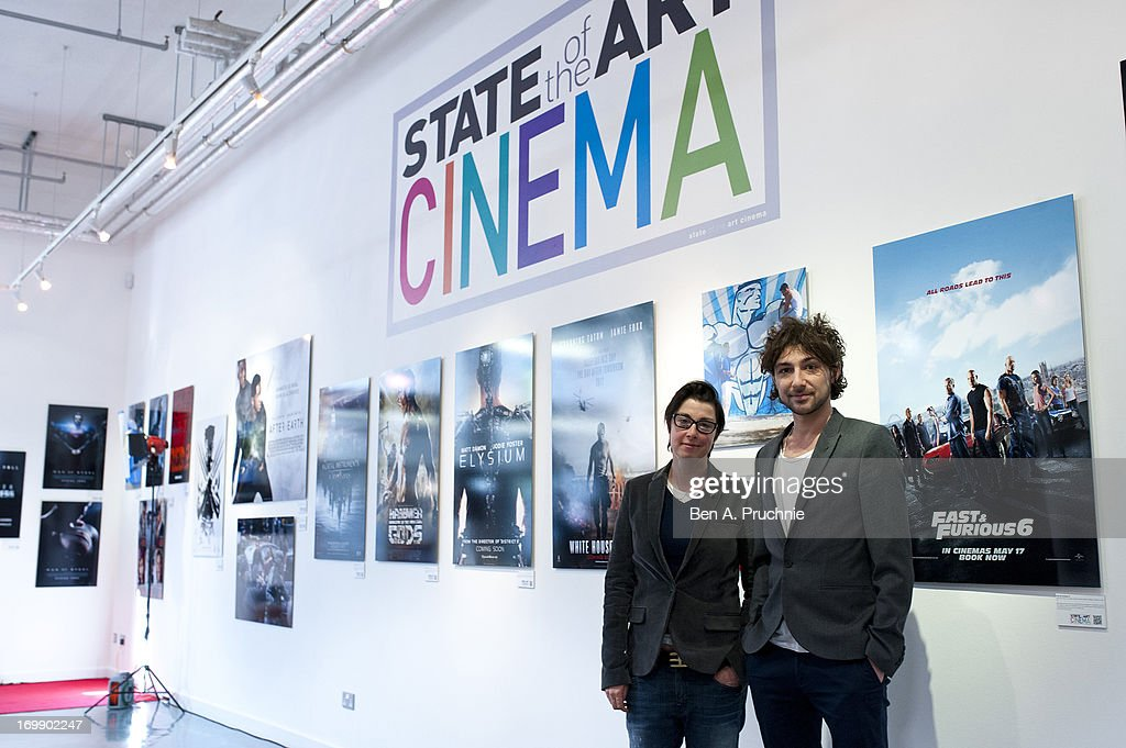 Sue Perkins and Alex Zane attend the FDA State Of The Art private view at Getty Images Gallery on June 3, 2013 in London, England.